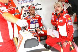 Andrea Dovizioso, Ducati Team, Gigi Dall'Igna, Ducati-Teamchef