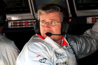 Пет Фрай, головний інженер McLaren