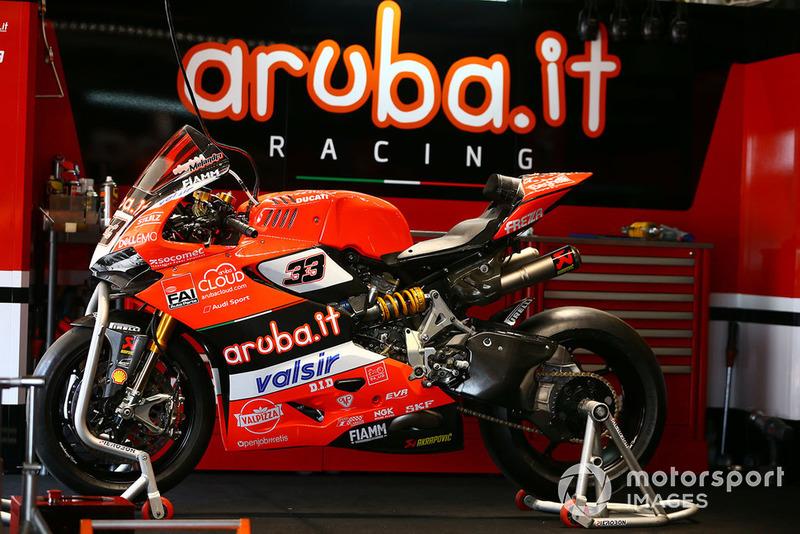 La Ducati Panigale R de Marco Melandri