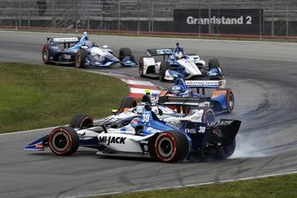 Dreher: Takuma Sato, Rahal Letterman Lanigan Racing Honda