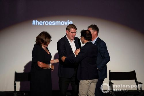 Heroes film premier