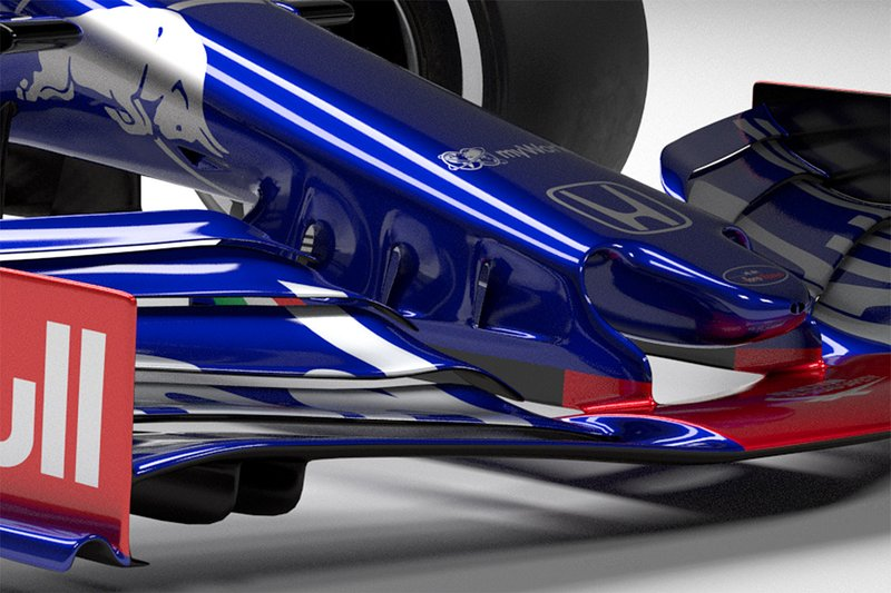 Автомобиль Scuderia Toro Rosso STR14