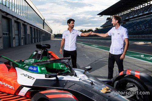 Audi FE Team Lausitzring testing