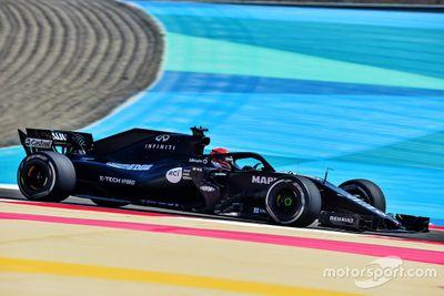 Renault Sport Academy Bahrain testing
