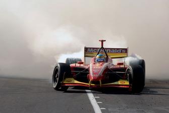 Il vincitore della gara Sebastien Bourdais, Newman Haas Lanigan Racing
