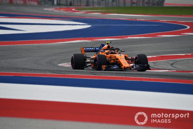 17º Stoffel Vandoorne, McLaren MCL33