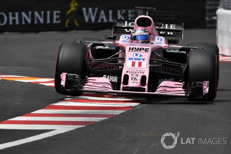 7: Серхио Перес, Sahara Force India F1 VJM10