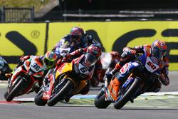 Michael van der Mark, Pata Yamaha; Stefan Bradl, Honda World Superbike Team