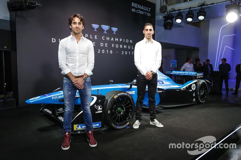 Nicolas Prost y Sebastien Buemi, Renault eDAMS