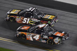 Christopher Bell, Kyle Busch Motorsports Toyota and Myatt Snider, Kyle Busch Motorsports Toyota