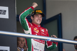 Podio: Charles Leclerc, PREMA Powerteam