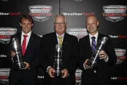 GTLM kampioenen Antonio Garcia, Gary Pratt, Jan Magnussen