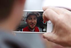 Mike Rockenfeller, Audi Sport Team Phoenix, Audi RS 5 DTM es filmado
