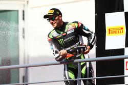 Le vainqueur, Jonathan Rea, Kawasaki Racing