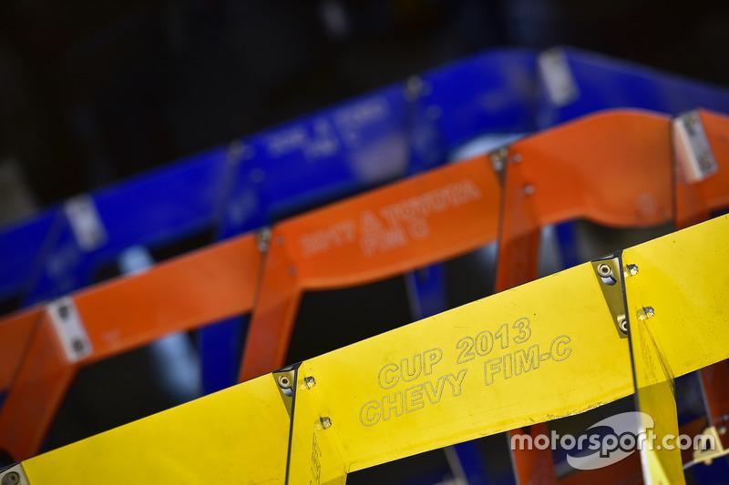 NASCAR-Schablonen für die technische Inspektion