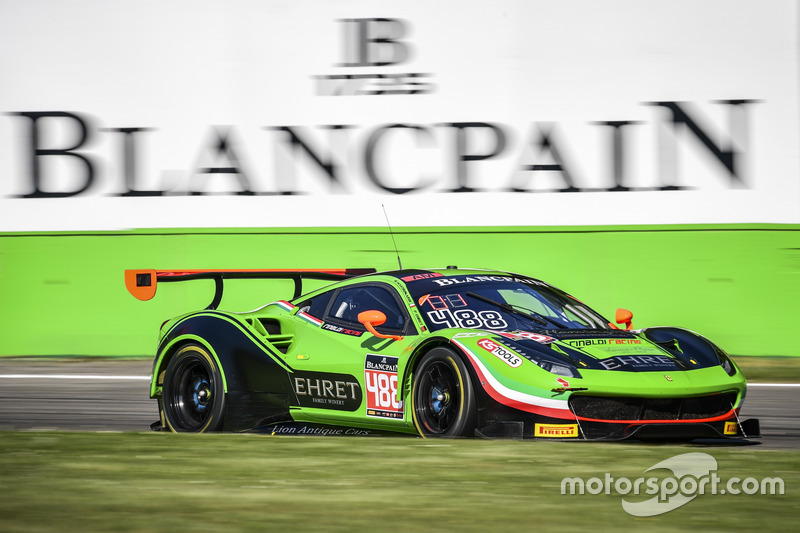 #488 Rinaldi Racing, Ferrari 488 GT3: Pierre Ehret, Rino Mastronardi