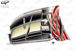 DUPLICATE: Lotus E20 front wing