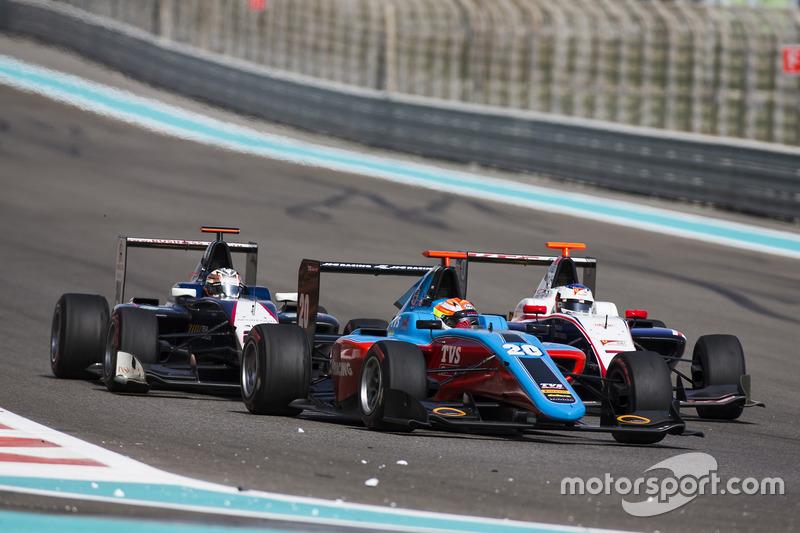 Arjun Maini, Jenzer Motorsport y Konstantin Tereschenko, Campos Racing & Giuliano Alesi, Trident