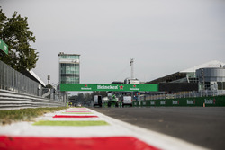 A view of the start/finish straight
