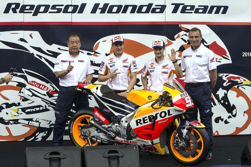Dani Pedrosa, Repsol Honda Team, y Marc Marquez, Repsol Honda Team