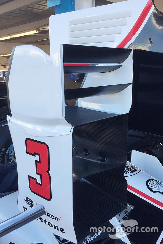 Chevrolet aerodynamische onderdelen