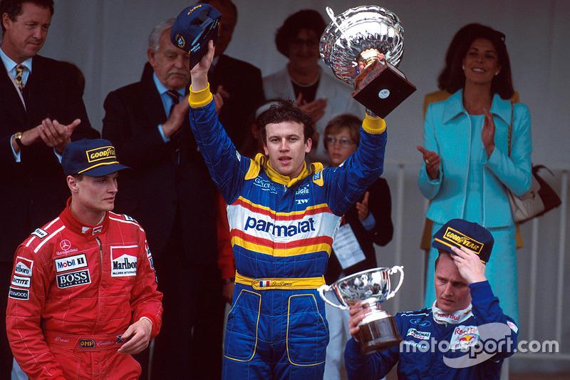 До финиша Гран При Монако-1996 добралось всего три гонщика. Победа досталась Оливье Панису, для которого этот успех стал единственным в карьере