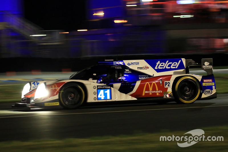 24: #41 Greaves Motorsport Ligier JSP2 Nissan: Memo Rojas, Julien Canal, Nathanael Berthon