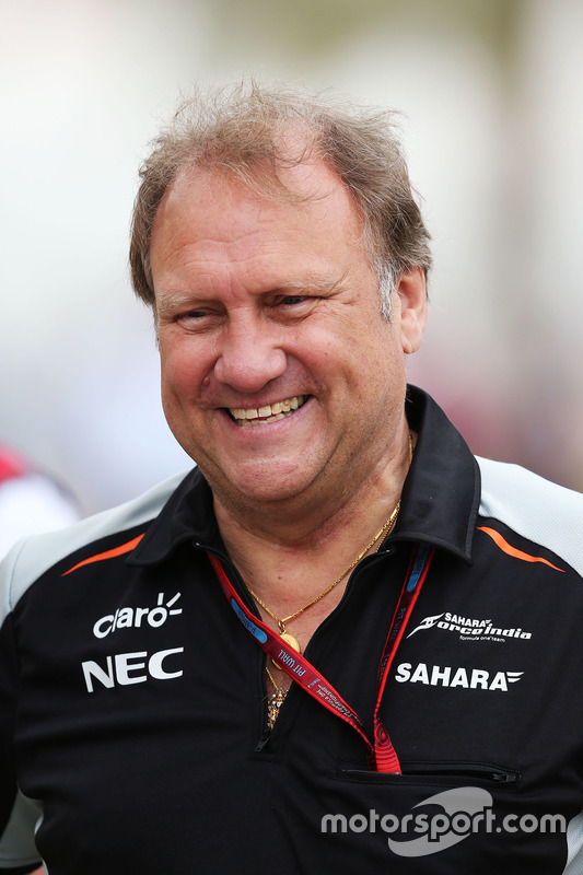 Robert Fernley, Sahara Force India F1 afgevaardigd teambaas