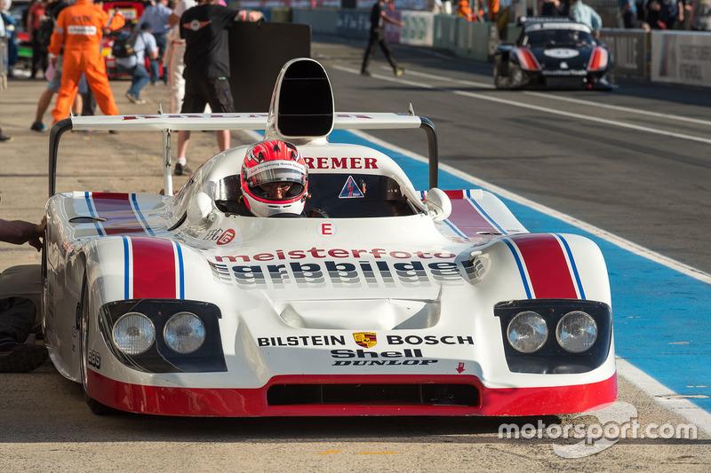 Marco Werner im 1982, Porsche 936
