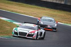 Audi R8 LMS #58, Zonzini - Russo, Audi Sport Italia