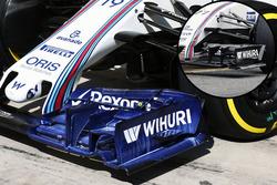 Williams FW38 kanat detay