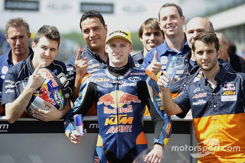 Poleman Brad Binder, Red Bull KTM Ajo