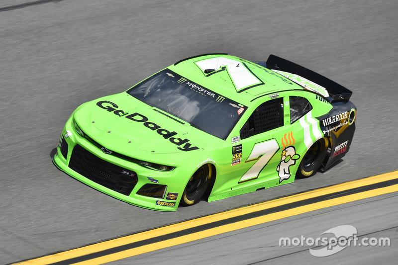 Crash: Danica Patrick, Premium Motorsports, Chevrolet