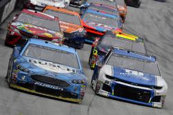 Kevin Harvick, Stewart-Haas Racing, Ford Fusion Busch Beer and Alex Bowman, Hendrick Motorsports, Chevrolet Camaro Nationwide