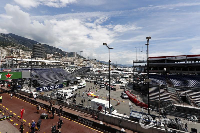 Formule 1 Lees terug: De woensdag van de Grand Prix van Monaco