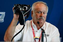 Terry Trammell, IndyCar-Sicherheitsberater, mit I-PAS zur Erkennung einer Gehirnerschütterung