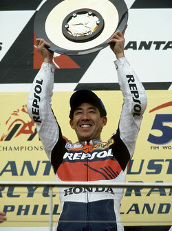 Podium: Tadayuki Okada, Repsol Honda Team