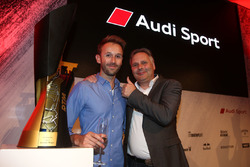 René Rast, Audi Sport Team Rosberg mit seinem Vater