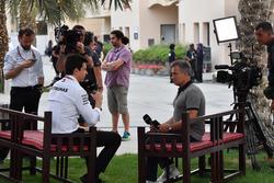 Керівник Mercedes AMG F1 тото Вольфф, Жан Алезі