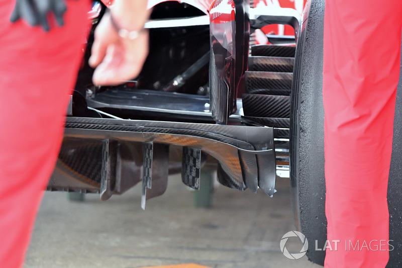 Диффузор Ferrari SF71H