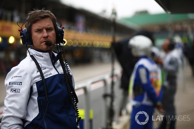 Rob Smedley, jefe de rendimiento del vehículo, Williams