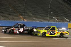 Christopher Bell, Kyle Busch Motorsports Toyota, Matt Crafton, ThorSport Racing Toyota