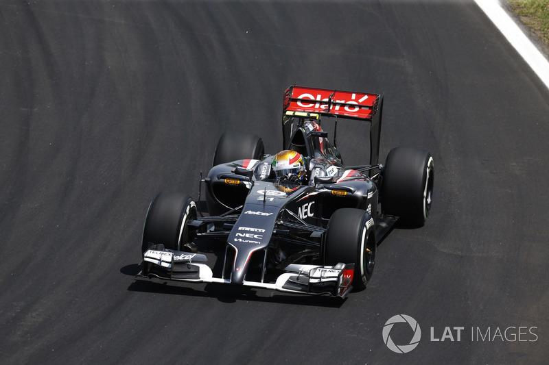 2014: Sauber-Ferrari C33