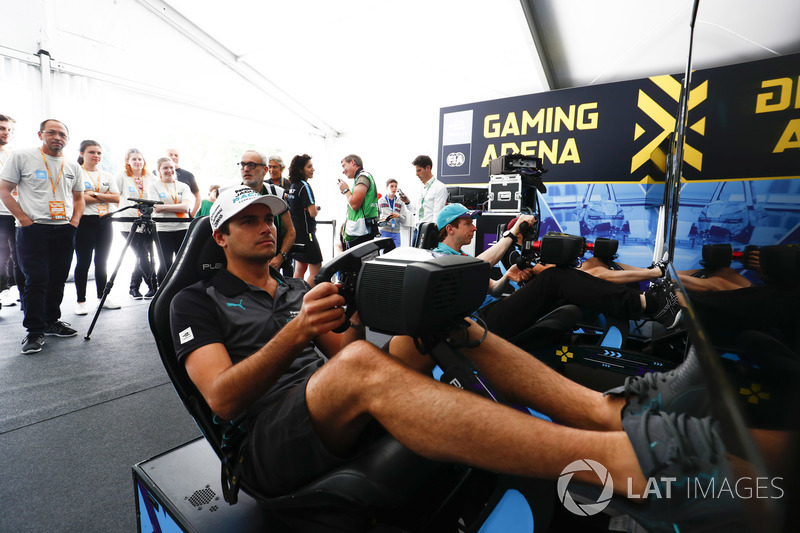 Nelson Piquet Jr., Jaguar Racing, Oliver Turvey, NIO Formula E Team