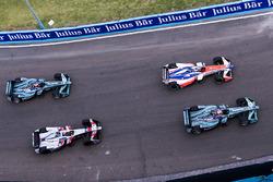 Nelson Piquet Jr., Jaguar Racing, Felix Rosenqvist, Mahindra Racing, Edoardo Mortara, Venturi Formula E Team & Mitch Evans, Jaguar Racing