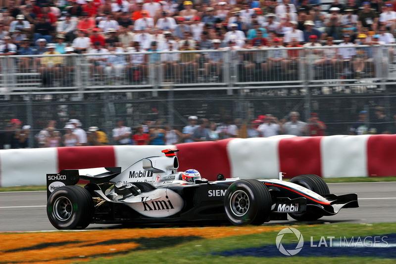 2005: Гран При Канады, McLaren MP4-20. Стартовал 7-м