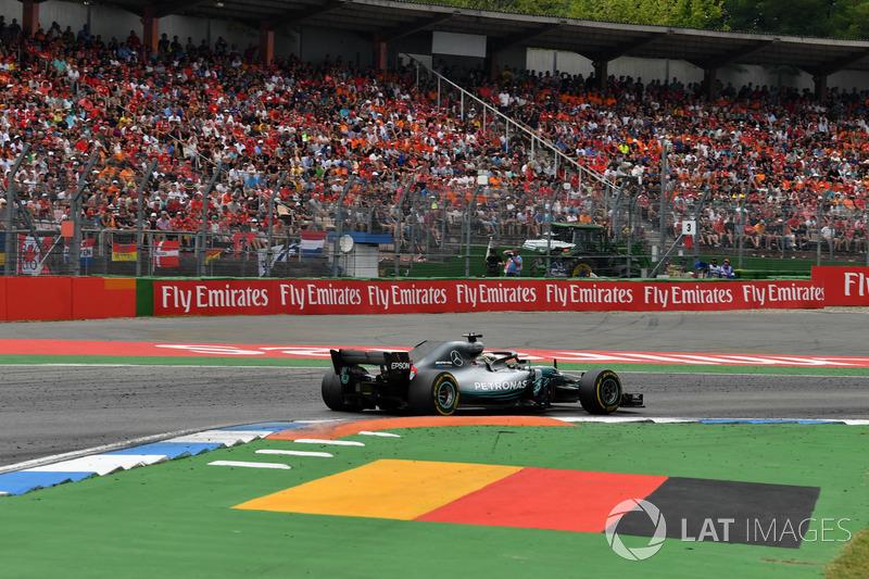 GP de Alemania: Lewis Hamilton (Ganó la carrera)
