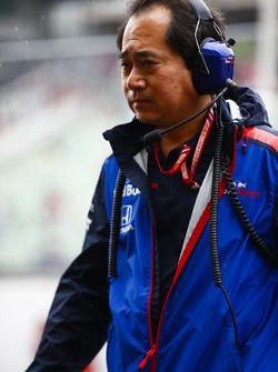 Toyoharu Tanabe, Director Técnico de F1, Honda