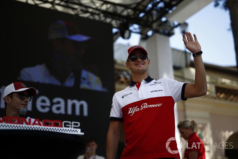 Marcus Ericsson, Sauber on stage