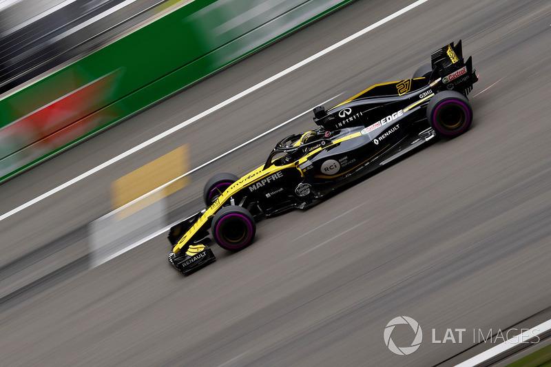 6e Nico Hulkenberg, Renault Sport F1 Team R.S. 18